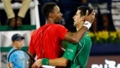 Dubai Open: Novak Djokovic survives Gael Monfils scare to set up final vs Stefanos Tsitsipas