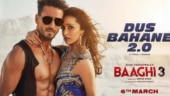 Baaghi 3 Dus Bahane 2.0: Tiger Shroff and Shraddha Kapoor look badass in new poster