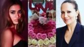 Disha Patani has a Valentine's Day gift for Tiger Shroff's mom Ayesha. See pic