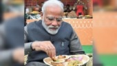 PM Modi tries litti-chokha and kulhad chai at India Gate in viral pics. Twitter is impressed