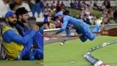 Virat Kohli and Williamson's viral pic to Sanju Samson's epic save. Memes from Ind vs NZ match