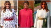 How Melania Trump's stunning fashion in India ended in pink disaster