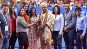 Leander Paes gets emotional during grand felicitation ceremony at Bengaluru Open