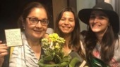 Pooja Bhatt turns 48: Dad Mahesh shares picture of birthday girl with Alia and Shaheen