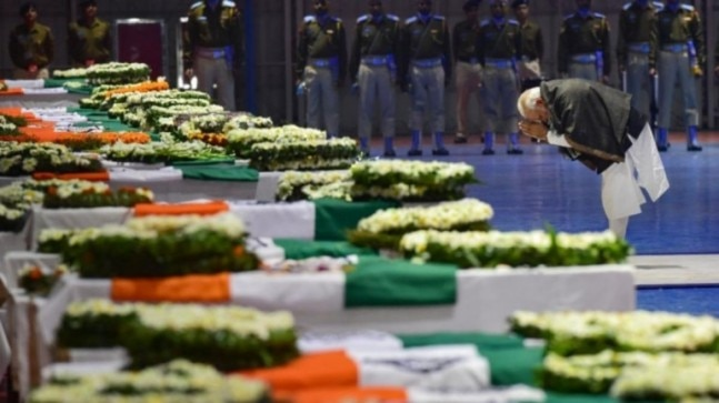 Pulwama attack anniversary: PM Modi, leaders across parties pay tribute to CRPF martyrs