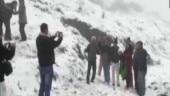 Tiger Hill in Darjeeling receives snowfall