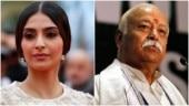 Sonam Kapoor slams Mohan Bhagwat for comments on divorce: Regressive foolish statements