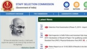 SSC CGL Admit Card 2020 for tier-I exam to release soon at ssc.nic.in