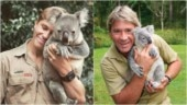 Robert Irwin recreates dad Steve Irwin's pic with koala. You might need to do a double take here