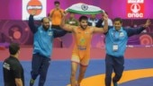 Sunil Kumar ends India's 27-year wait for gold in Greco-Roman at Asian Wrestling Championships