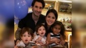 Sunny Leone celebrates sons Noah and Asher's 2nd birthday: God bless you both my little angels