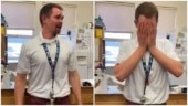 Students gift teacher shoes after his got stolen. His priceless reaction wins Internet