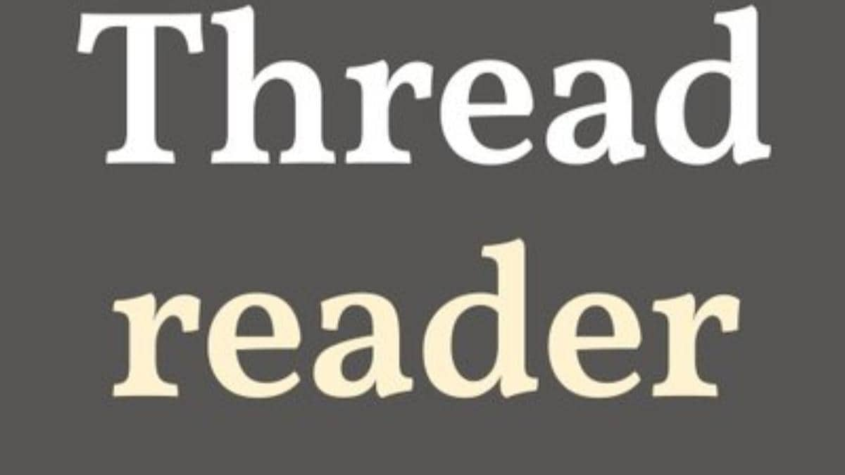 Thread Reader App On Twitter Helps You Unroll Tweets From A Thread For Easy Read Here S How Technology News