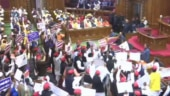 UP opposition MLAs shout slogans, interrupt Governor's speech to protest CAA, NRC
