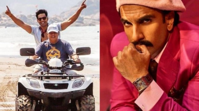 Varun and David Dhawan are doing all things Goa on Coolie No 1 shoot. Ranveer Singh approves