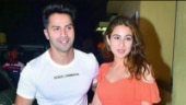 Varun Dhawan and Sara Ali Khan bask in the sun on Coolie No 1 set in Goa. Watch video
