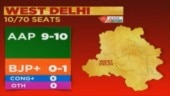 Delhi election 2020: AAP predicted to sweep West Delhi with 9-10 seats