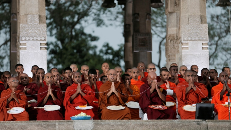 Sri Lanka offers Buddhist prayers to combat Covid-19