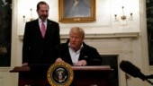 Donald Trump signs $8.3 billion bill to combat coronavirus outbreak in US