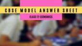 CBSE Board Exam 2020: Download Class 12 Economics model answer sheet here