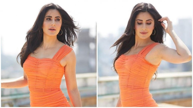 Katrina Kaif in figure-hugging dress gets the spring vibes right ...