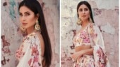 Katrina Kaif in pretty floral lehenga gets the simple yet sexy look right. All pics