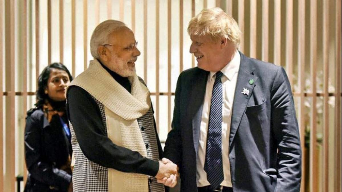 Johnson And Narendra Modi