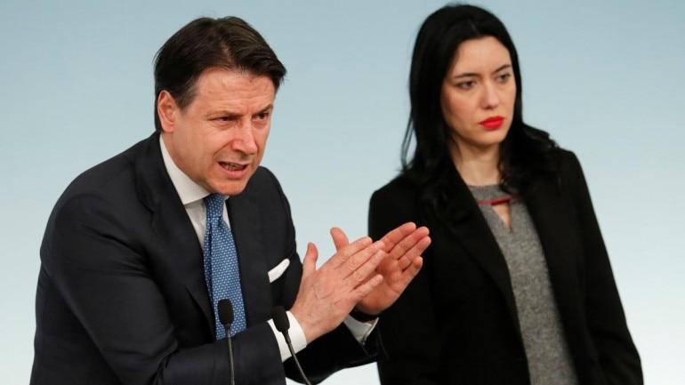 Italian Prime Minister Giuseppe Conte (Reuters Photo)