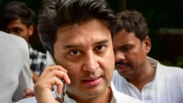 Jyotiraditya Scindia tweeted a picture of his resignation letter addressed to Congress chief Sonia Gandhi on March 10. (File photo: PTI)