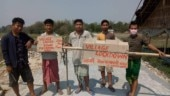 Assam villagers build barricades to enforce coronavirus lockdown