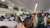 "Coronavirus in India: Delhi airport authorities claim viral video of people shouting ""please shoot us"" is old"