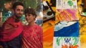 Coronavirus effect: Ayushmann Khurrana and Tahira Kashyap paint with their kids at home