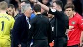 Premier League: Everton hold Manchester United 1-1 after VAR drama