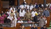 7 Congress MPs suspended from Lok Sabha for throwing paper at Speaker