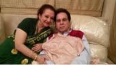 Dilip Kumar doing fine after backache: Saira Banu