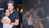 Hina Khan parties hard with Parth Samthaan and Sahil Anand at Ariah Agarwal's birthday bash