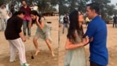 Watch: Katrina Kaif plays dog-and-the-bone on Sooryavanshi set. Akshay Kumar turns team captain