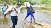 Kerala MLA and collector trek 3 kms to reach 37 tribal families with food, essentials