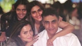 Pranutan celebrates 27th birthday with dad Mohnish Bahl and family. See pic