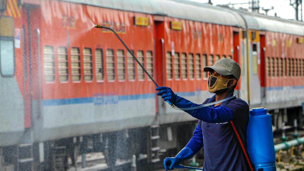 Coronavirus in India: Railway employee tests positive, becomes ...
