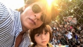 Shah Rukh Khan shares drawing made by AbRam: Being a father has been my greatest source of pride