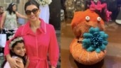 Sushmita Sen's daughter Alisah recycles old sock into stuffed toy in lockdown. Actress is proud