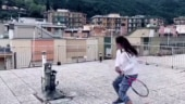 Coronavirus lockdown: Video of girls playing tennis from rooftops in Italy goes viral