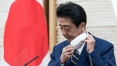 Japan PM Shinzo Abe criticised as tone deaf after lounge-at-home Twitter video