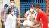 Coronavirus in India: Mamata Banerjee ventures out during lockdown to assist public