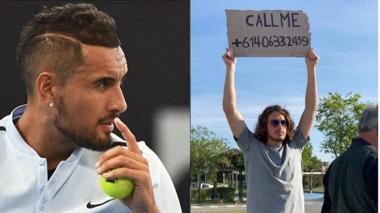 Everyone Stop Calling Me Stefanos Tsitsipas Reveals Nick Kyrgios Number In Birthday Post Sports News