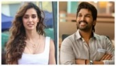 Disha Patani is floored by Allu Arjun's dance in Butta Bomma song. He says thank you