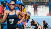 Covid-19: Triathlete in Cuba training in 3-meter long pool lent by trainer's 9-year-old daughter