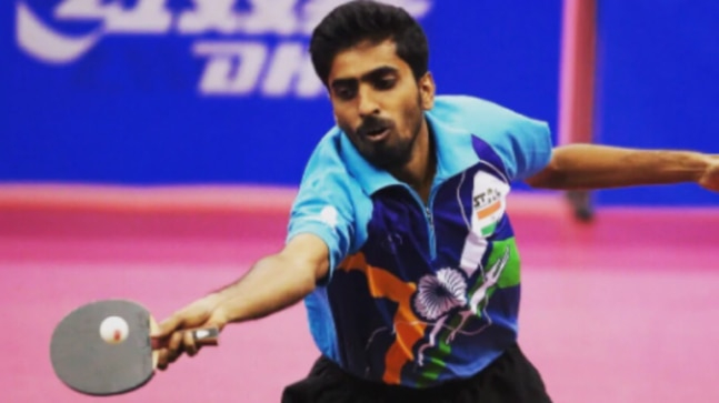 Covid-19: India's top-ranked table tennis player G Sathiyan trains with robot