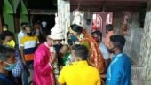 West Bengal: Couple ties knot with masks & social distancing, feeds poor instead of having feast